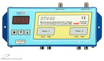 Double AV Demodulator (TV Tuner): Mixpol DTV-02