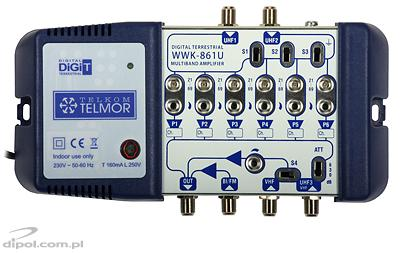 Universal Multiband Amplifier: TELMOR WWK-861 (tuned)