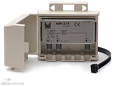 Outdoor TV/SAT Combiner MM-214(F) ALCAD