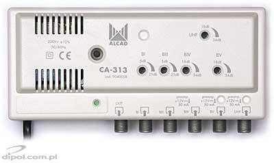 Antenna Amplifier ALCAD CA-313 (5 band inputs)