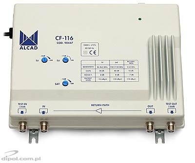 Building Antenna Amplifier CF-116 (SAT IF/TV/FM/Return - ALCAD 904 series)