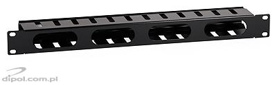 Horizontal Cable Organizer (1U, for 19-inch RACK)