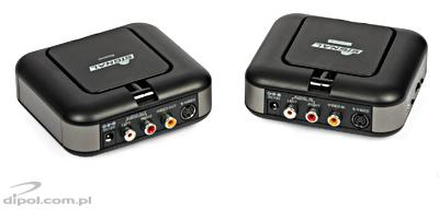 Set extender wireless TR-3000 (audio-video + IR pe 5.8GHz)