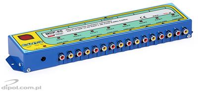 8-channel TV Modulator: Mixpol MDP-8S (ch. 1-69)