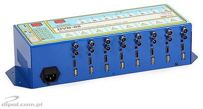 DVB-T / UHF PAL Headend: Mixpol DVB-08T (8 channels)